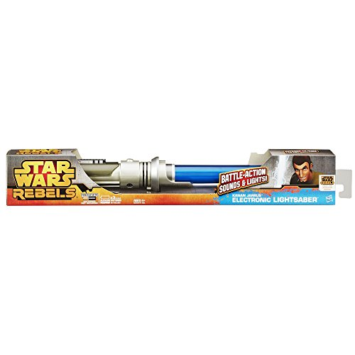 Star Wars Lightsabers Toys : Star wars kanan jarrus electronic lightsaber toy greedos