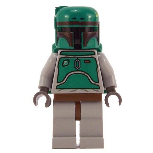 Lego Star Wars Minifigure Classic Boba Fett With Blaster Gun Greedos